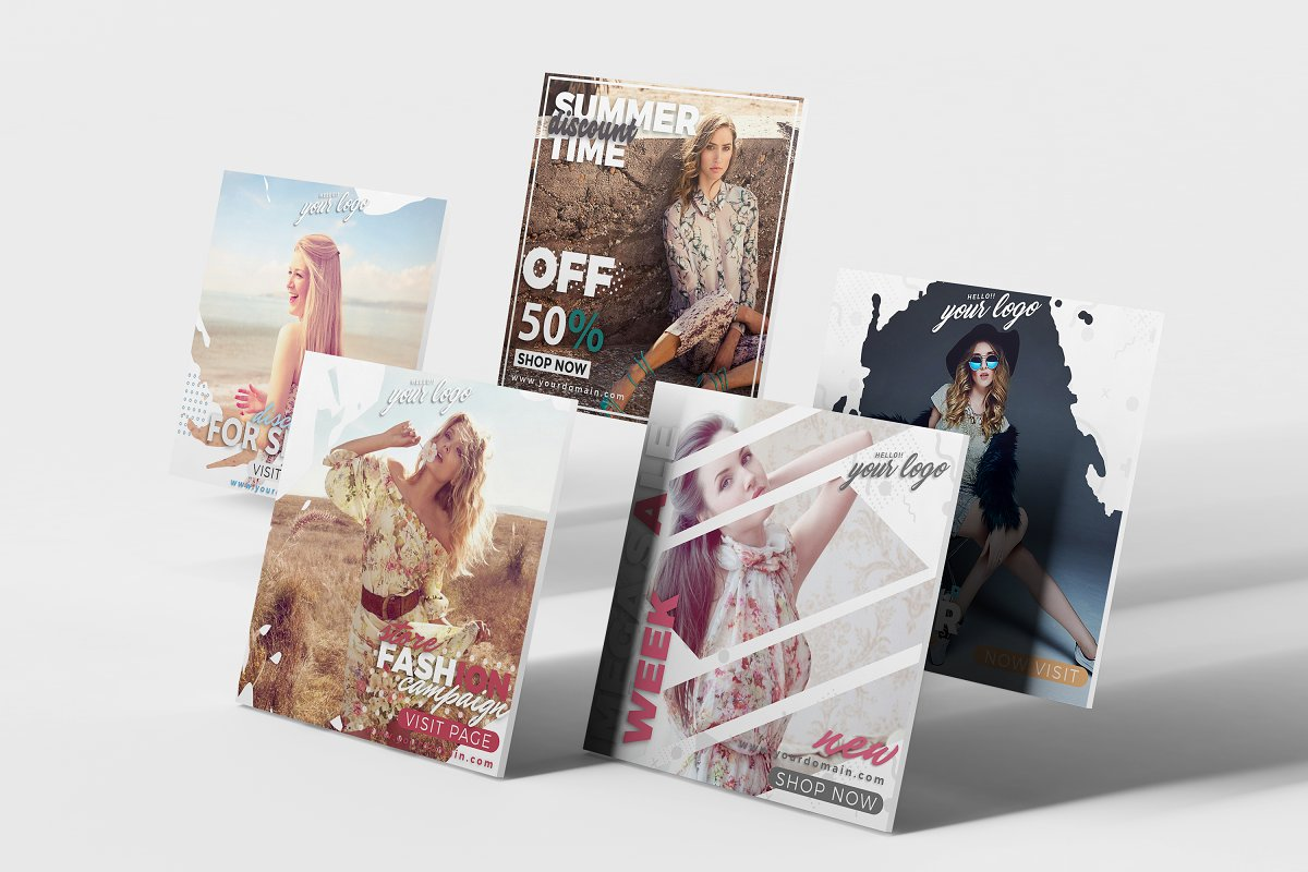 instagram Post Template-Sale in Instagram Templates - product preview 3