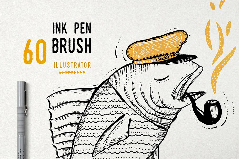 Illustrator Pencil Brushes ~ Illustrator Add-Ons ~ Creative Market