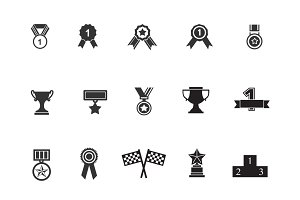 15 Award and Badge Icons