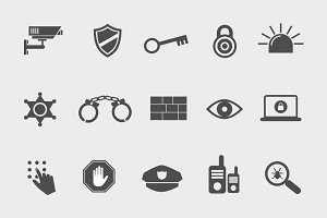 15 Security Icons