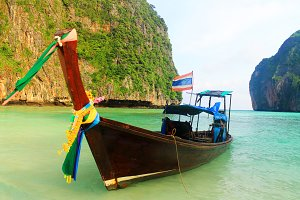 Thailand Traditional Boat