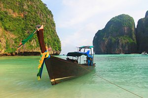 Thailand Longtail Traditional Boat