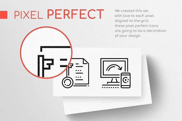 Line Design Icons Bundle