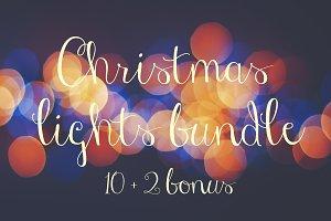 Christmas lights bundle 10 + 2 bonus
