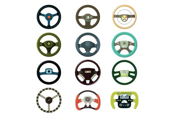 steering wheel vector car driving pre designed vector graphics creative market steering wheel vector car driving
