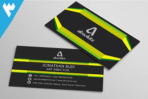 Modern Creative Line Business Card