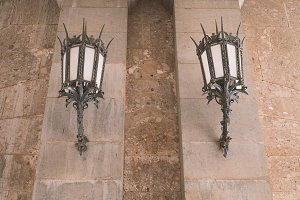 Historical lampposts