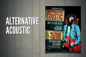 Alternative Acoustic Flyer / Poster