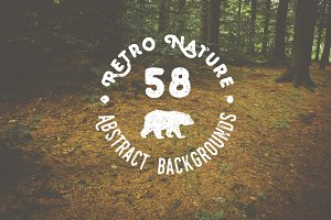 58 Retro Nature Backgrounds