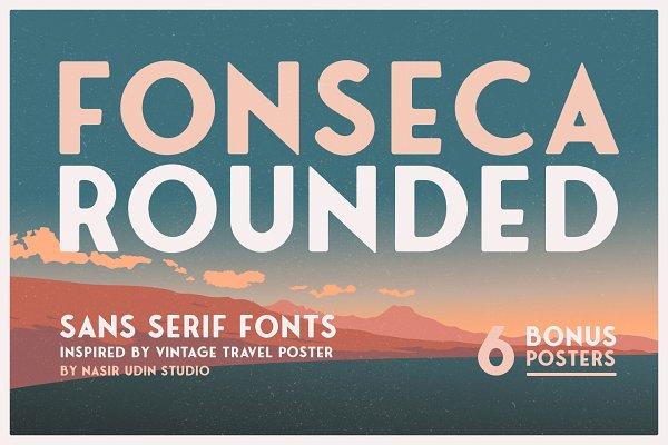 Fonseca Rounded +BONUS RETRO POSTERS
