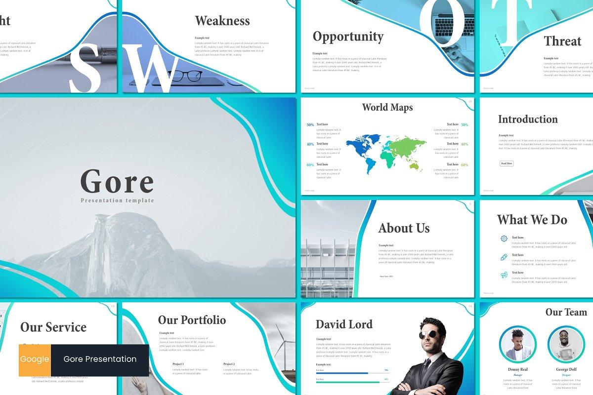 Gore - Google Slides Template