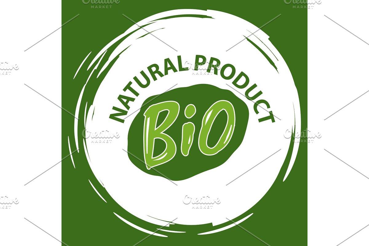 Natural Product, Vegan Food, Sticker
