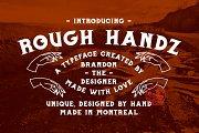 Rough Handz Font