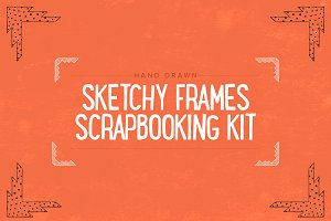 Hand Drawn Scrapbooking Kit - SALE
