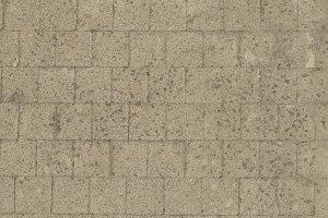 Dirty Brick Pavement
