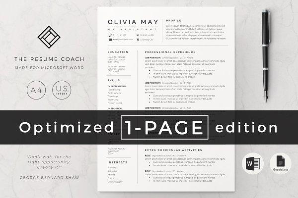 Creative Market Resume from images.creativemarket.com