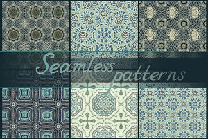 16 seamless patterns