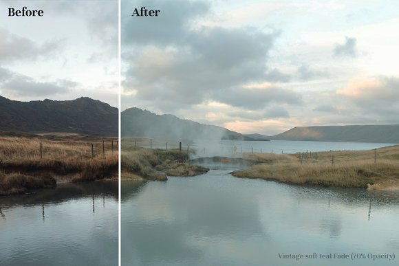 Vintage Faded - Cinematic LUTs Pack in Photoshop Plugins - product preview 1