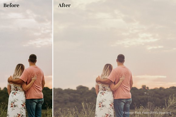Vintage Faded - Cinematic LUTs Pack in Photoshop Plugins - product preview 2