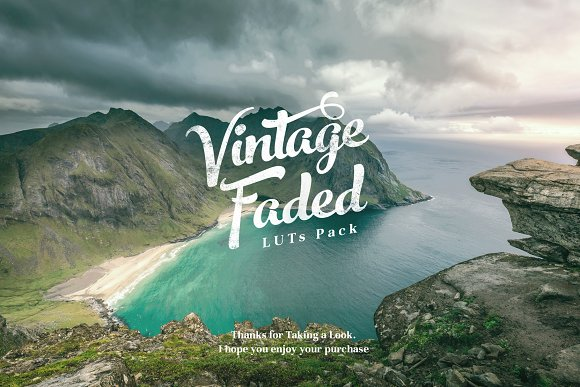 Vintage Faded - Cinematic LUTs Pack in Photoshop Plugins - product preview 10