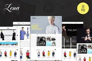 Lena - Fashion eCommerce PSD