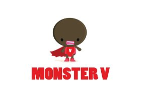 Monster V Logo