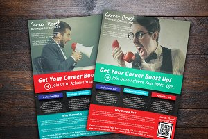 Career Boost Consultant Flyer