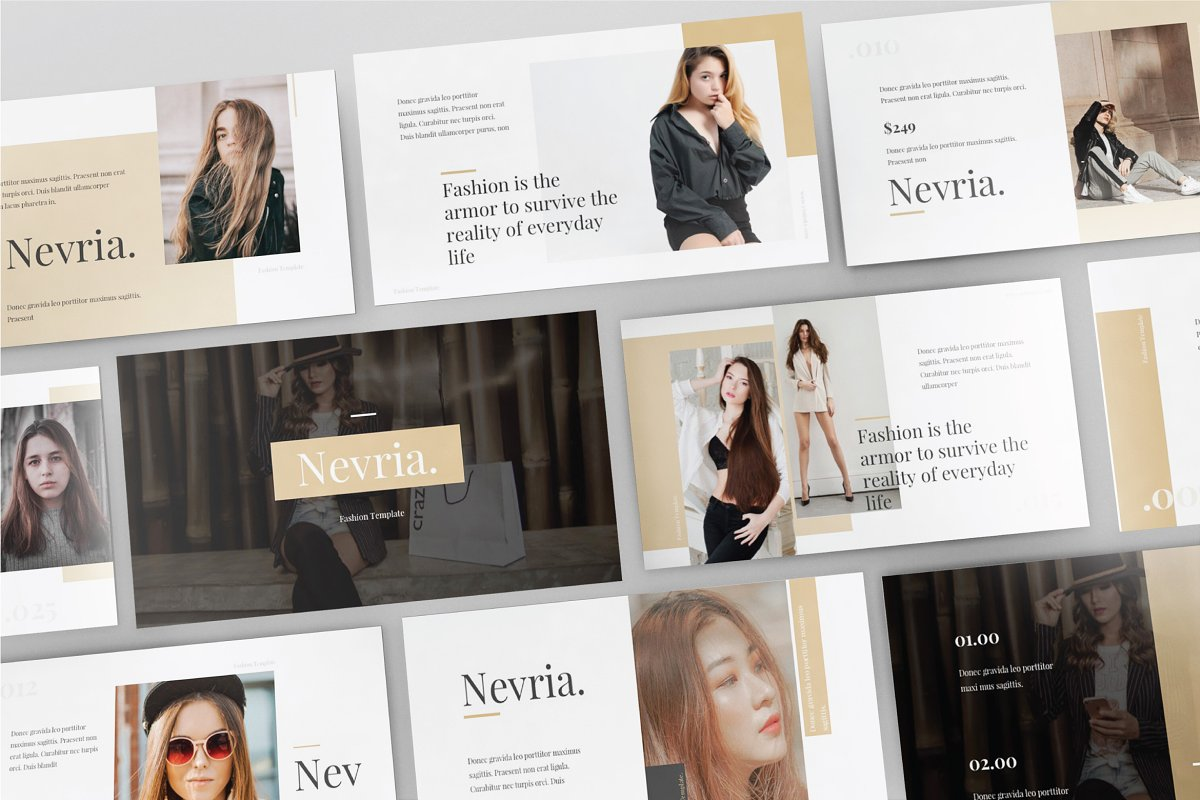 Nevria Powerpoint Template Powerpoint Templates