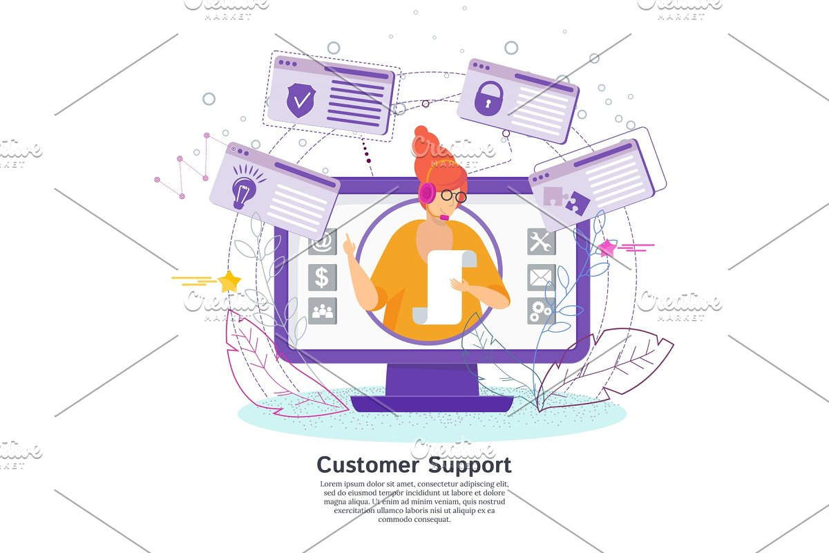 Hotline operator advises clients