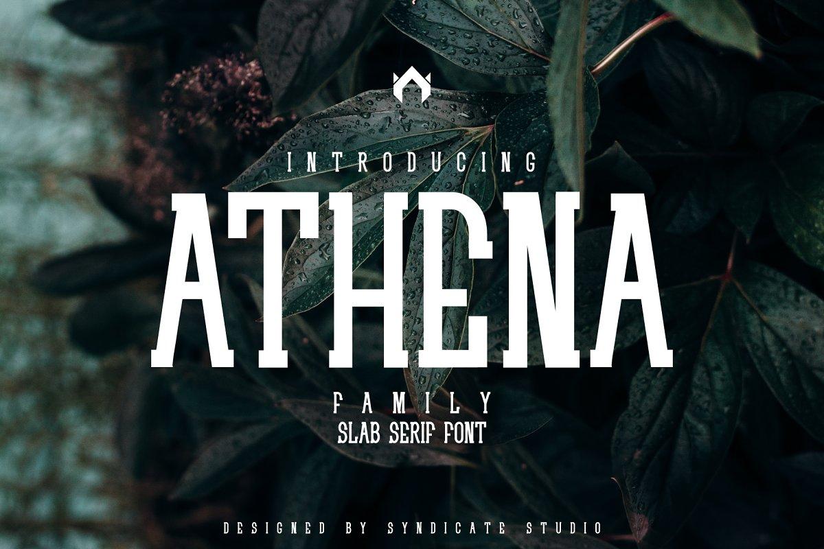 ATHENA I Slab Serif