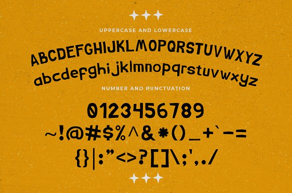 Chimpo Typeface + BONUS in Display Fonts - product preview 1