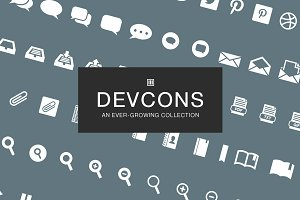 DevCons - Developer Icon Set