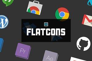 Flatcons - Flat Web Icons