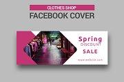 Clothes Shop - Facebook Cover