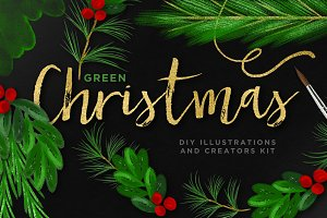 Christmas Illustration Bundle + EU