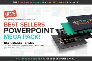 Best Sellers PowerPoint Mega Pack