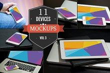 Apple Device PSD Mockups Vol. 3