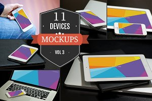 Apple Device PSD Mockups Vol. 3