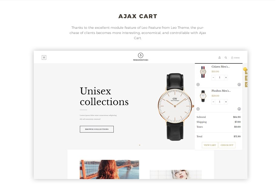 LEO PENGUINWATCH PRESTASHOP THEME in Bootstrap Themes - product preview 7