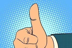 Thumb top gesture