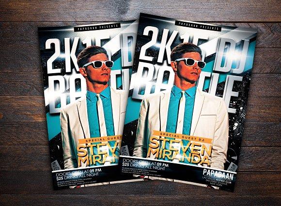 2K15 DJ Battle Flyer