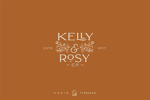 Elegant Karin - Stylish Typeface in Serif Fonts - product preview 21