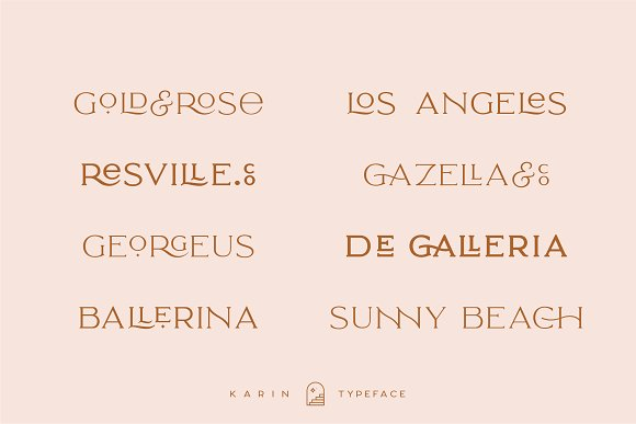 Elegant Karin - Stylish Typeface in Serif Fonts - product preview 23