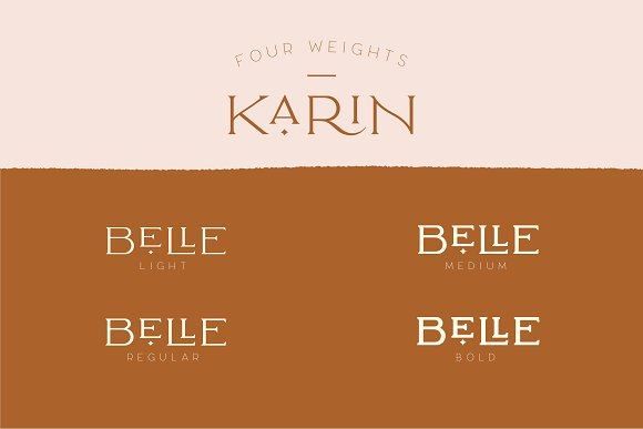 Elegant Karin - Stylish Typeface in Serif Fonts - product preview 24