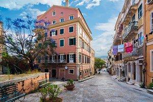 Corfu streets