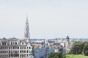 Summer in Brussels, Belgium