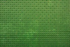 Green metal sheet texture.