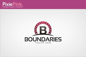 Boundaries Logo Template
