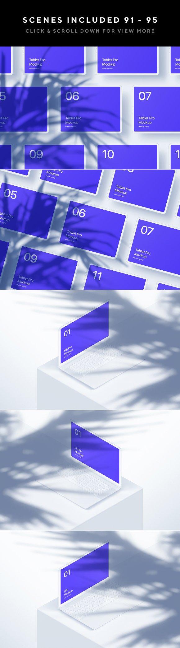 100 Branding Stationery Mockups in Branding Mockups - product preview 39