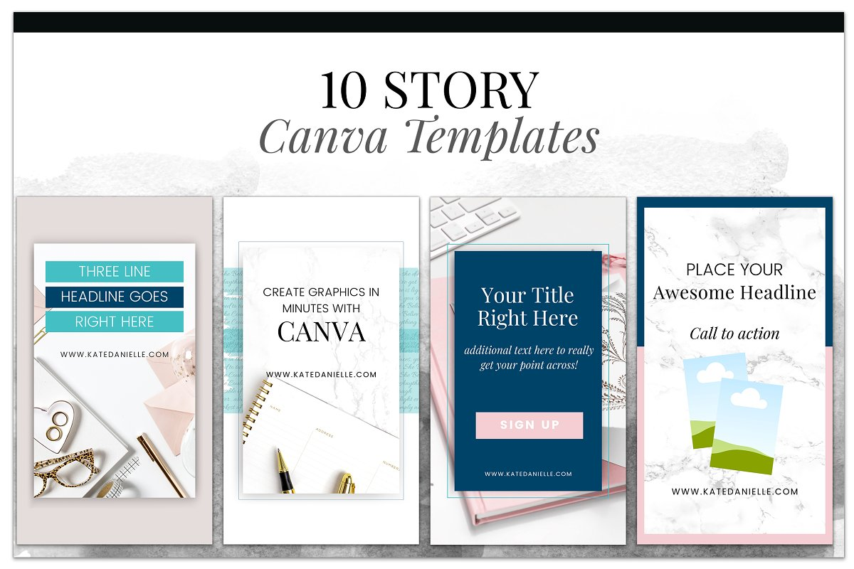 Story Canva Templates in Instagram Templates - product preview 8